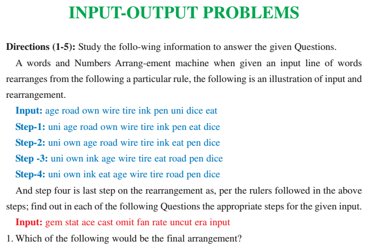 logical reasoning questions and answers with explanation pdf