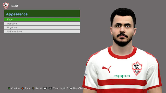 PES 2017 Mahmoud Hamdi Face by Andrew