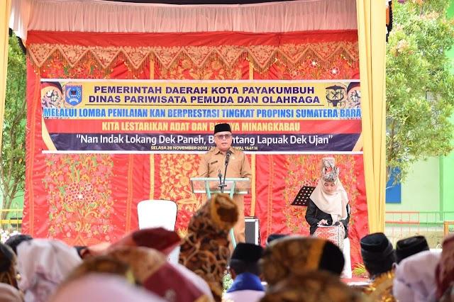 KAN Koto Nan Gadang,Wakili Payakumbuh Untuk Penilaian KAN Berpertasi Tingkat Sumbar