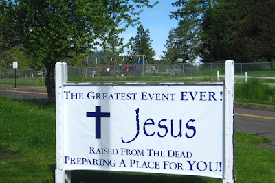 Eugene Sign Haiku, Pt 2: Jesus Saved A Spot For You