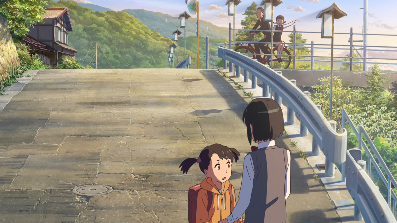 Your Name (2016) BRRip 720p Latino captura 4