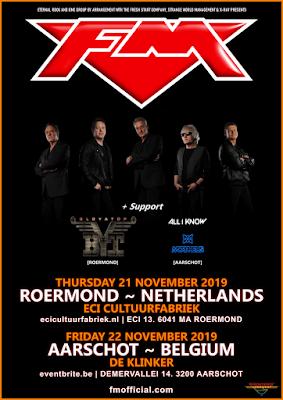 FM Netherlands / Belgium show poster - 21-22 Nov 2019