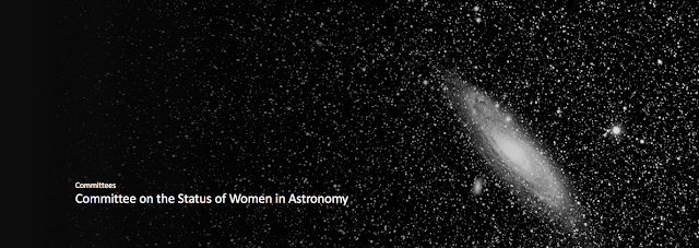 CSWA Banner w/ an image of the Andromeda Galaxy