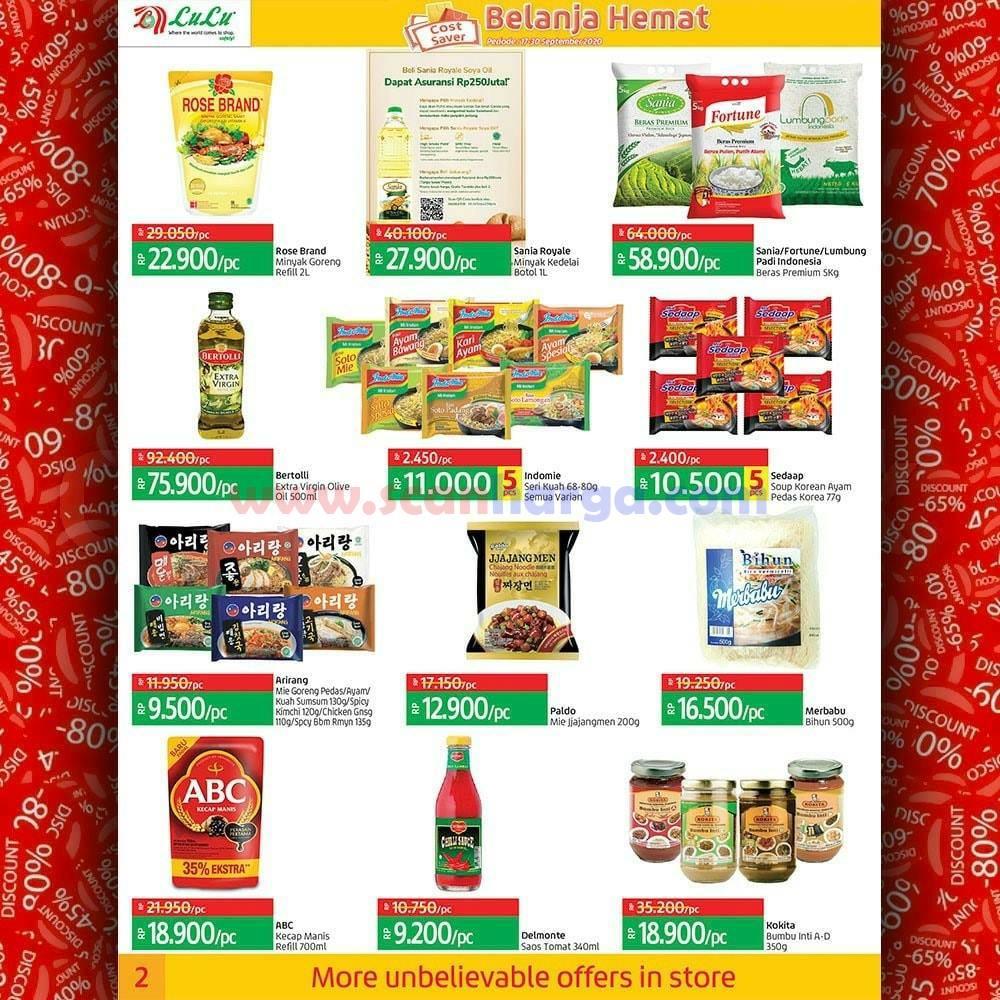 Katalog Promo LULU Supermarket 17 - 30 September 2020 2