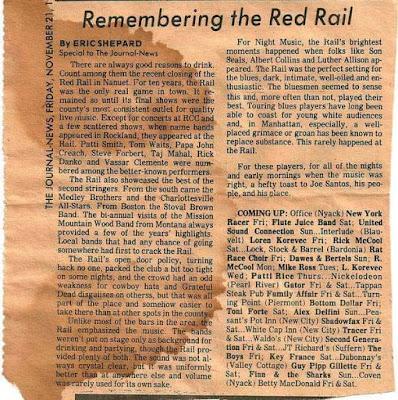 The Red Rail club in Nanuet, New York