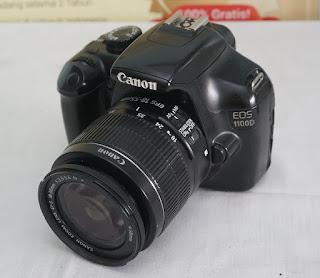 Jual Canon EOS 1100D DSLR Bekas