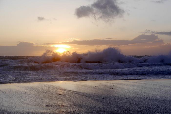 Baltic Sea, Ostsee, Ahrenshoop, Fischland, Darß, beach, Strand, sunset, Sonnenuntergang