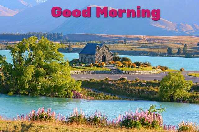Awesome Good Morrning image with naure morning