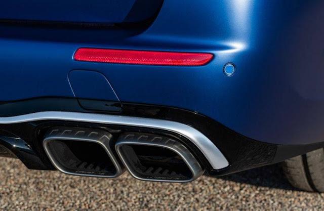 2021 mercedes e63 s wagon exhaust