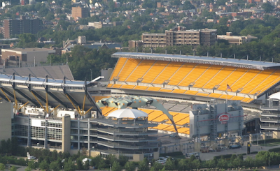 Heinz Field de Pittsburgh U2 360 Tour