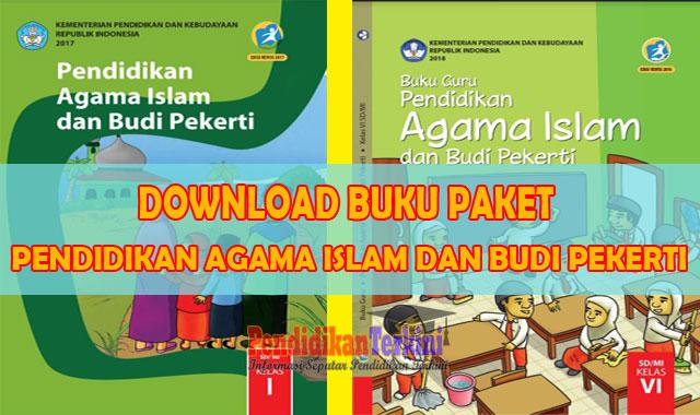 Download Buku Pendidikan Agama Islam dan Budi Pekerti Kelas 1 - 6 SD Revisi Terbaru