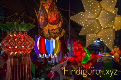 diwali celebration decoration
