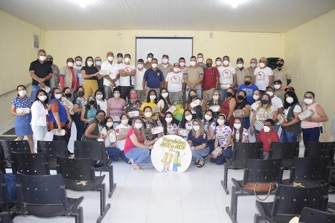Prefeitura Municipal de Cariré-CE comemora o Dia Municipal do Agente Comunitário de Saúde (ACS) e do Agente de Combate às Endemias (ACE)