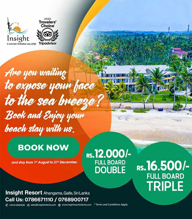 Insight Resort - Ahangama | Book and enjoy your beach stay with us.