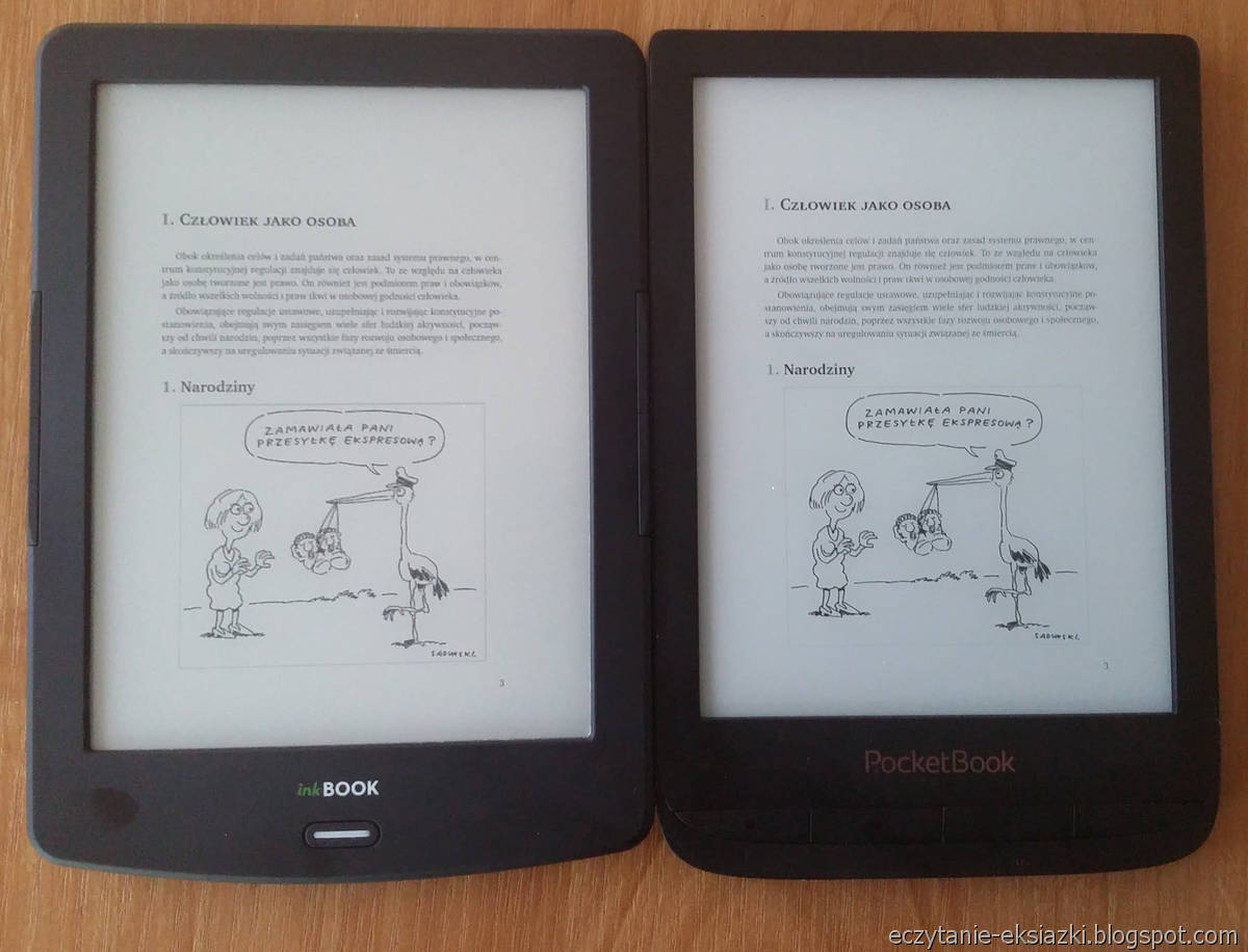 InkBOOK LUMOS i PocketBook Touch Lux 4