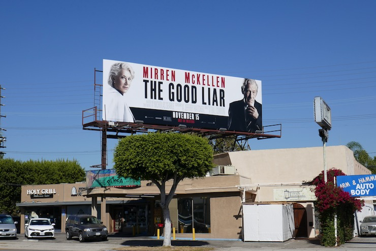 Good Liar billboard