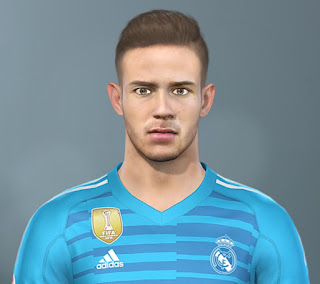 PES 2020 Faces Luca Zidane by The White Demon