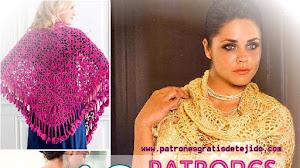 60 + 50 Patrones de Chales Crochet / Colección