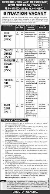 Agriculture Department Govt jobs 2020