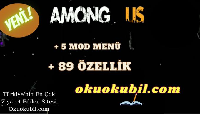 Among Us Free-Fire Theme + 5 Mod Menü + 89 Özellik türkiye'de ilk GodMode SpeedHack