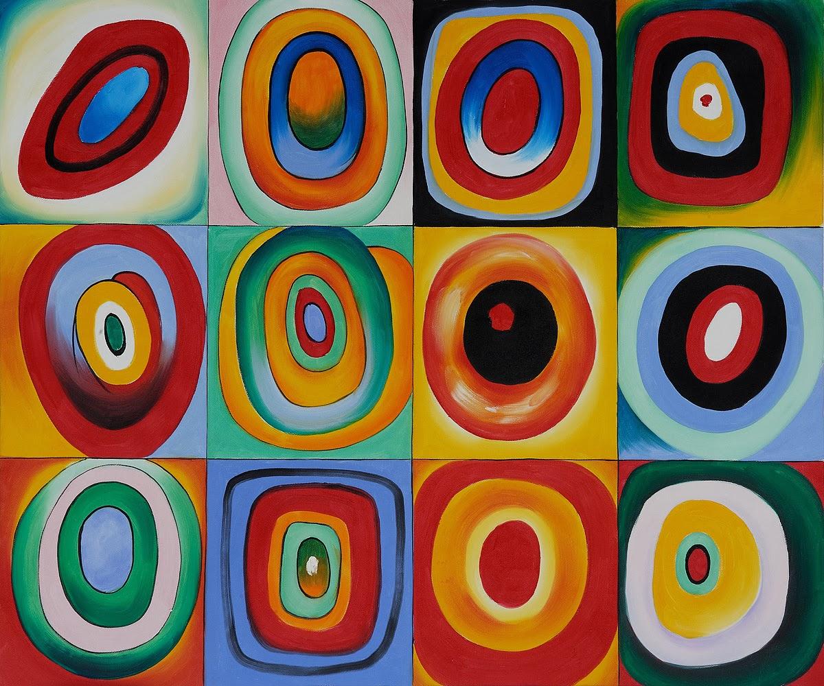 Arte Para Niños El Pintor Wassily Kandinsky Para Niños