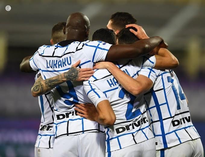 Inter,  2-0 a Firenze e nuovo sorpasso al Milan