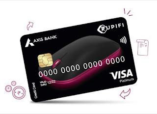 'Axis Bank Rupifi Business Credit Card'