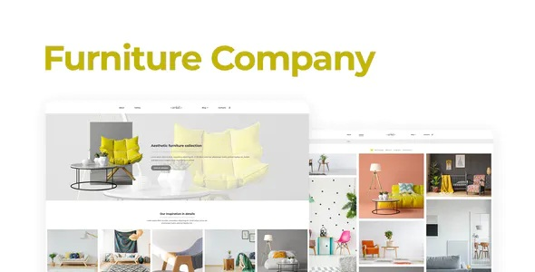 Furniture Company Template Kit
