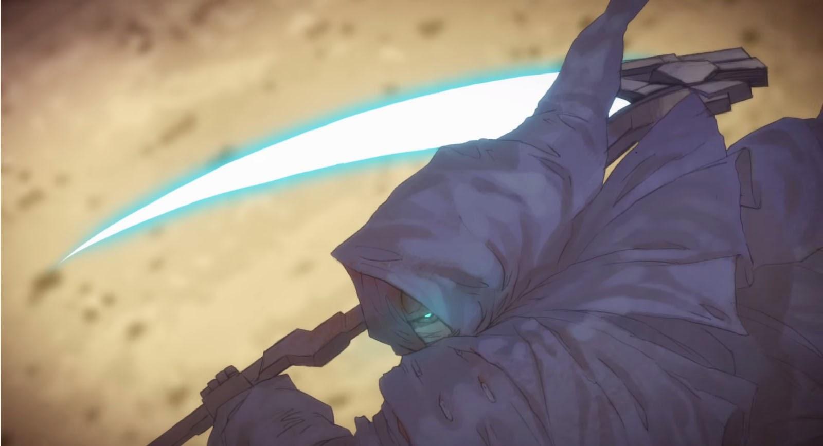 Frozen Teardrop Warlock