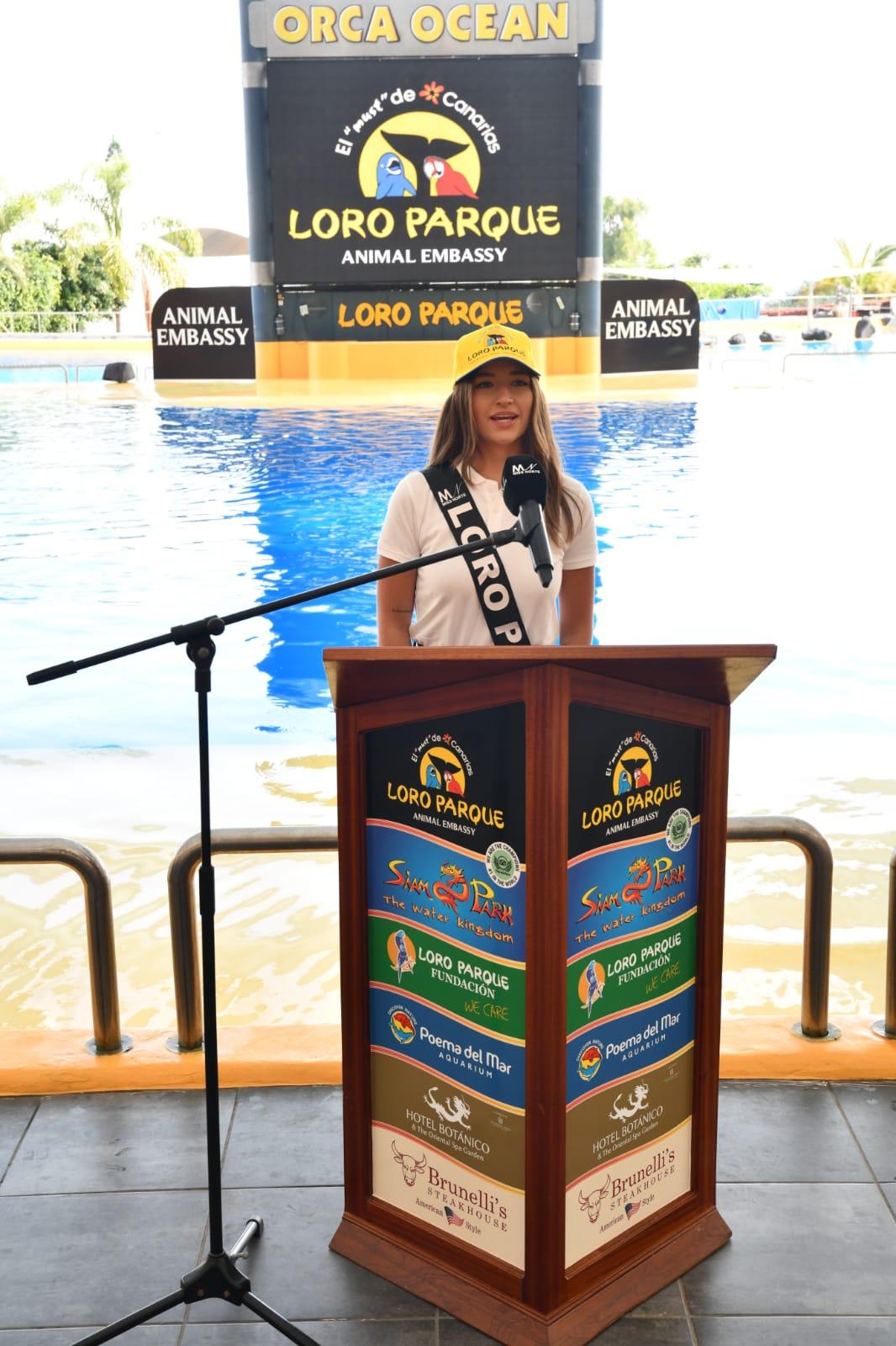 Candidata Miss Norte