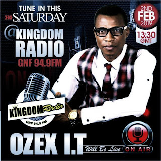 Gospel Minister Ozex I T Interviewed On Kingdom Radio Sweden [Details]