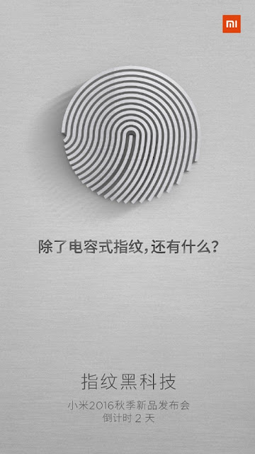 Xiaomi konfirmasikan Mi 5s akan dibekali sensor sidik jari ultrasonic dan Force Touch