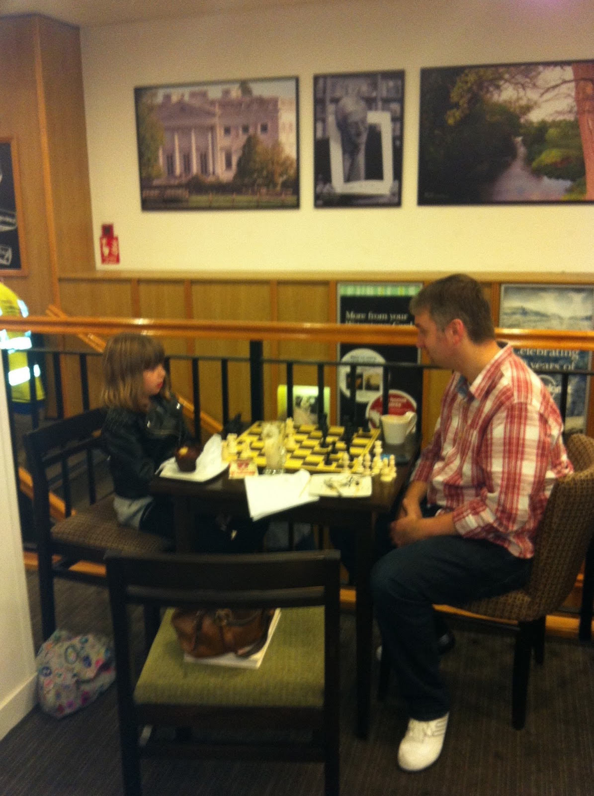 Rev T and the Tubblet playing chess