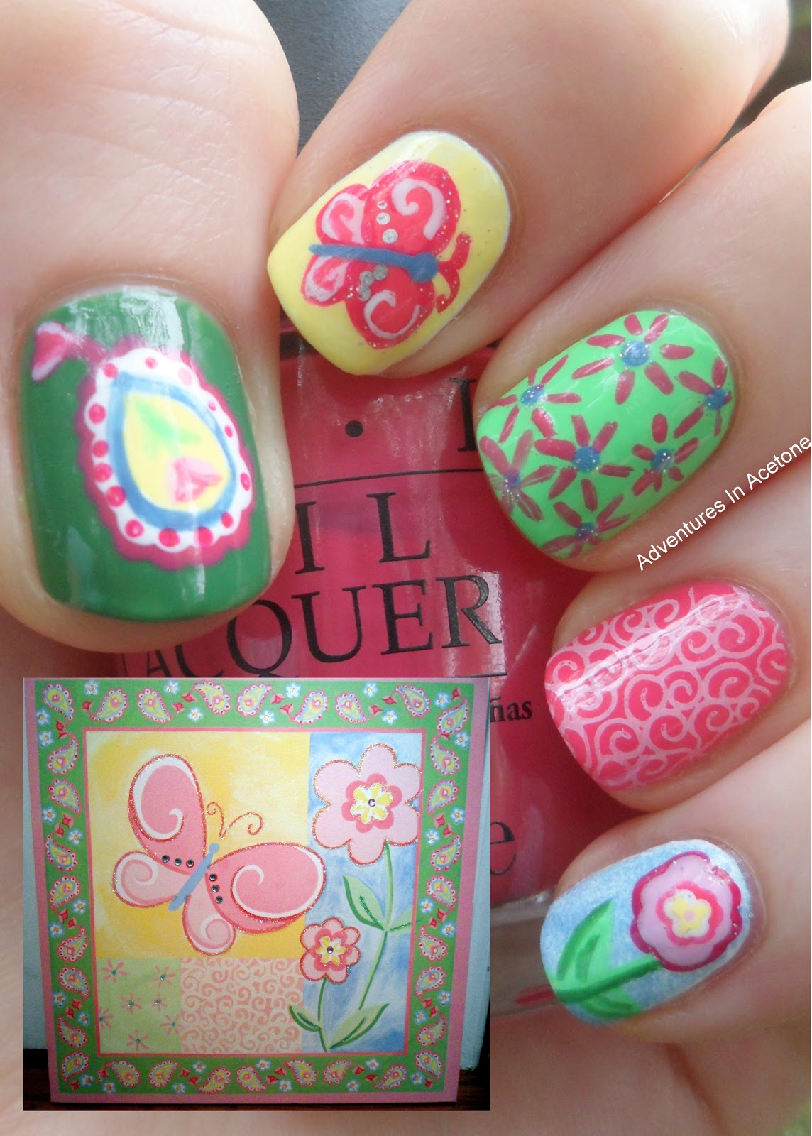 Day 7: Your Child's Room Decoration Nail Art