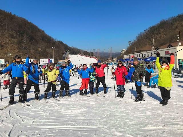 Đón giáng sinh thỏa thích trượt tuyết ở Hàn Quốc