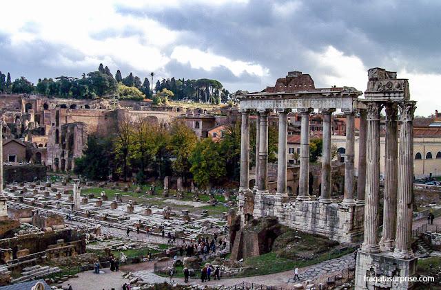 Templo de Saturno, Fórum Romano