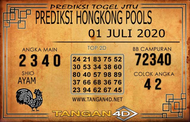 PREDIKSI TOGEL HONGKONG TANGAN4D 01 JULI 2020