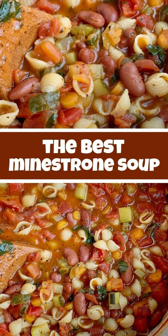 the best Minestrone Soup #Thebestrecipe #Dinnerrecipes #dinner #Minestrone #SOup #Chop #deleciousrecipes