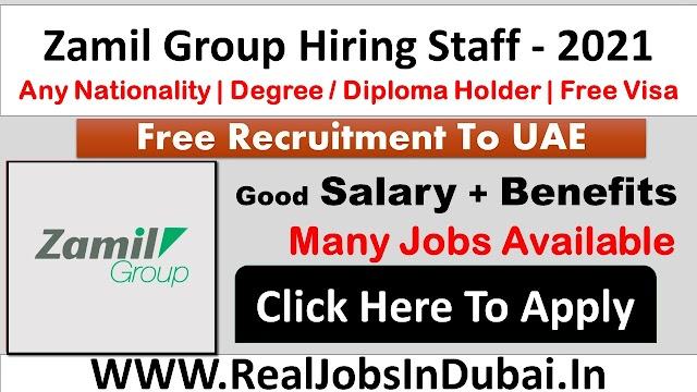 Zamil Group UAE Careers Opportunites