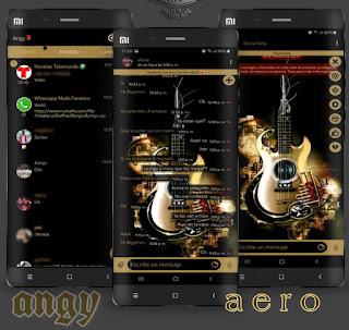 Guitar Theme For YOWhatsApp & Aero WhatsApp By Ave fénix