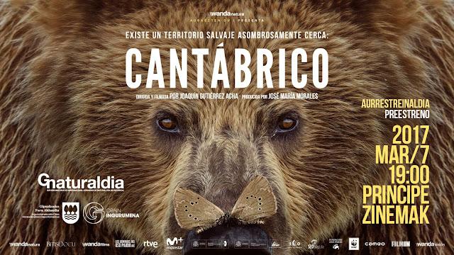 Cantábrico (Los dominios del oso pardo) Documental Estreno HD
