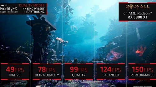 AMD's answer to Nvidia's DLSS this month