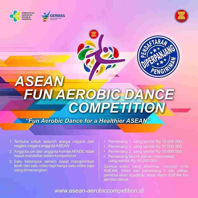 Daftarkan Diri Kalian Dalam Ajang The Creation Of ASEAN Fun Aerobic Dance Competition (AFADC) 2021