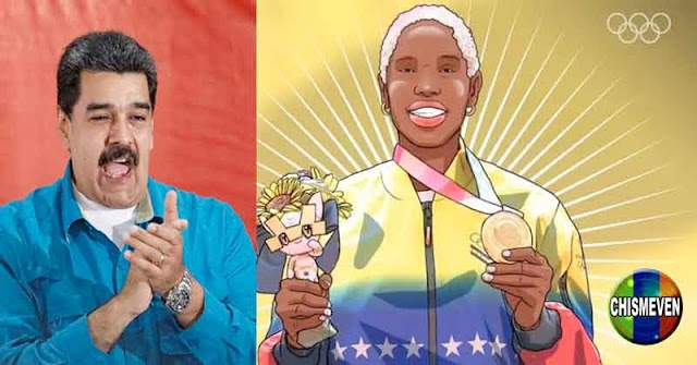 Yulimar Cartoon   La Historia Animada de la Reina Medallista de Maduro