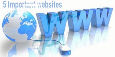 تعرف على 5 مواقع إلكترونية مهمة عليك الإدمان على زيارتها و الاستفادة من منشوراتها