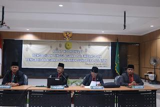 Rapat Koordinasi dan Monev Implementasi 9 (sembilan) Aplikasi Inovasi Pelayanan Peradilan Agama