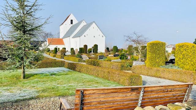 jerlev kirke ådals-etapen landsbyvandreruten 16-9