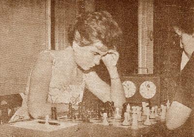 Partida de ajedrez Eustòlia Embaeff Zvova-Pepita Ferrer