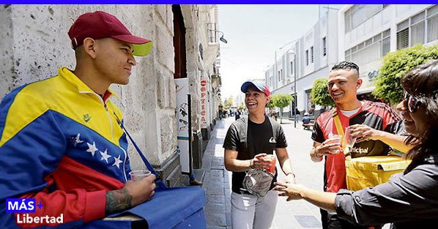 ¡ Bienvenidos los venezolanos horados !