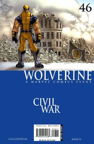 Civil War: Wolverine #46 PDF